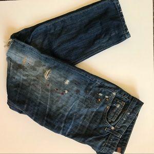 Joe's jeans painter splashed jeans. Size 28.